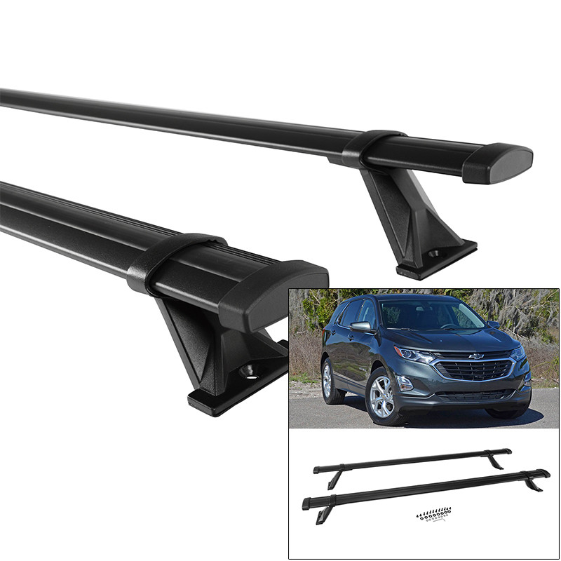 roof rack cross bars for chevy equinox 18 19 left right front rear removable