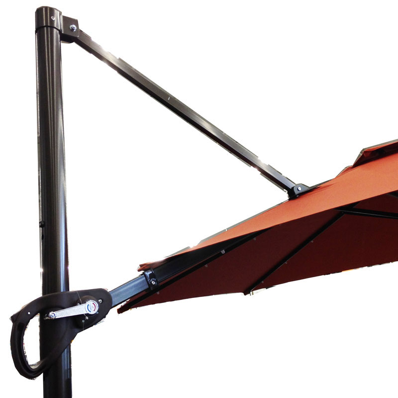 garden winds replacement canopy top for the bed bath beyond 11ft offset umbrella