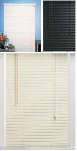 vinyl mini blind alabaster 25 x 72