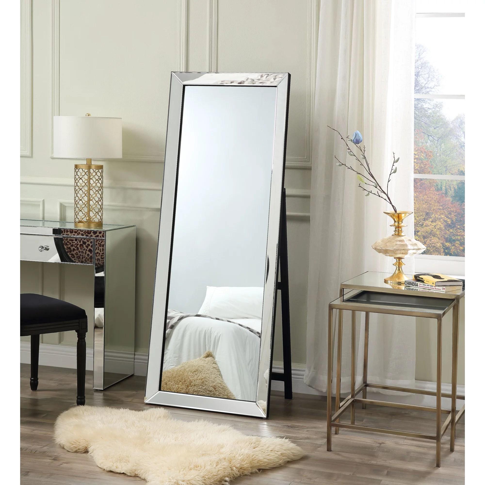 Jadai Full Length Mirror - Floor Standing   Makeup Vanity ... on Mirrors For Teenage Bedroom  id=95498