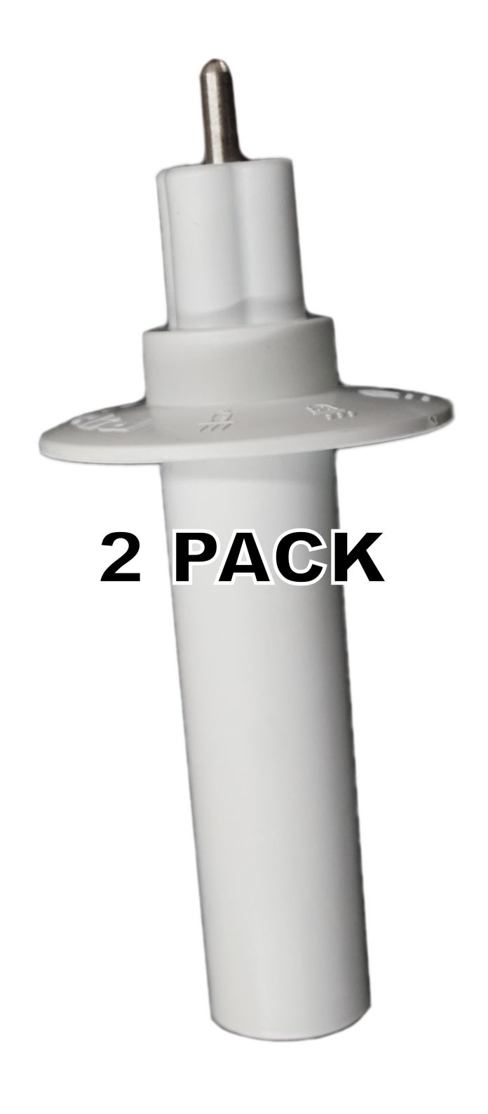 2 Pk, 9-Cup Food Processor Adapter for KitchenAid, AP6021874, W10466843