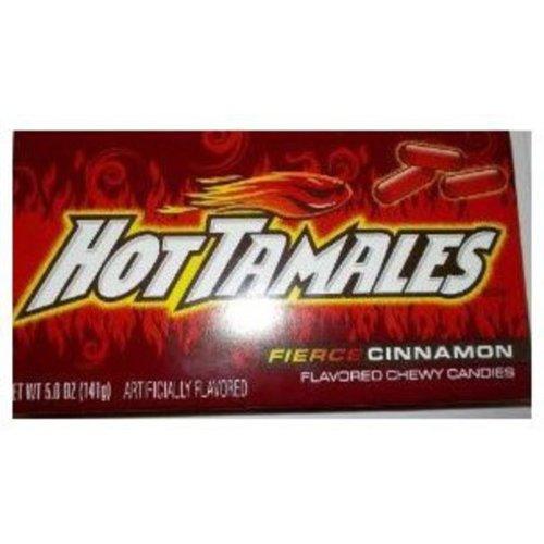 Hot Tamales Chewy Candies Fierce Cinnamon 5 Oz Walmartcom