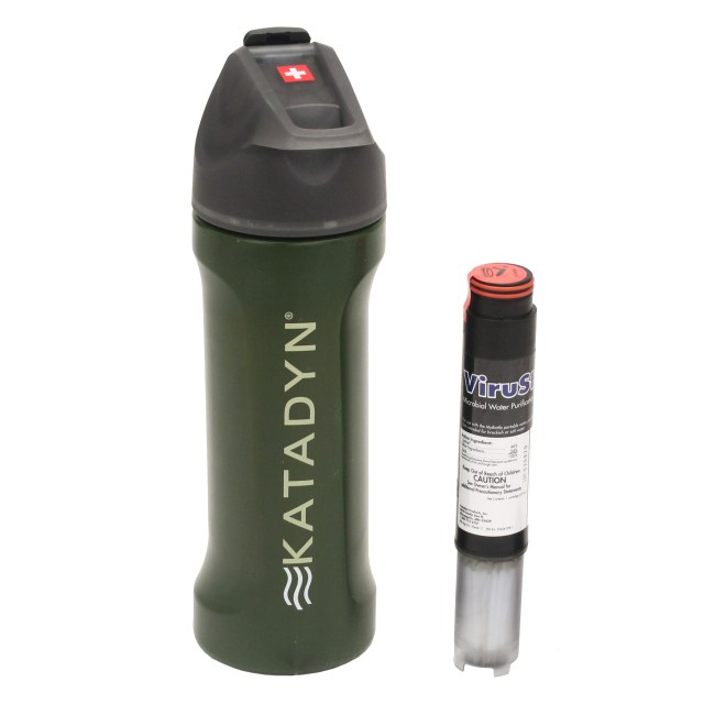 NEW Katadyn MyBottle Water Bottle Purifier Green Deer