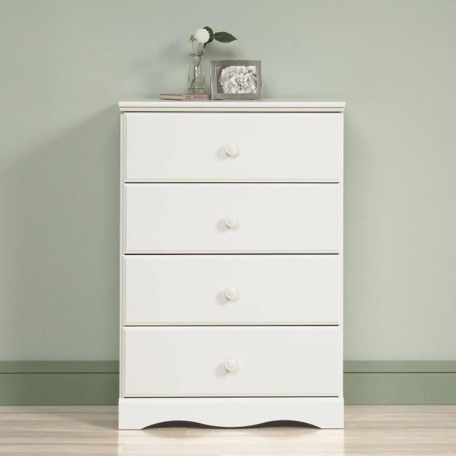 Sauder Beginnings 3 Drawer Dresser Highland Oak Finish Walmart