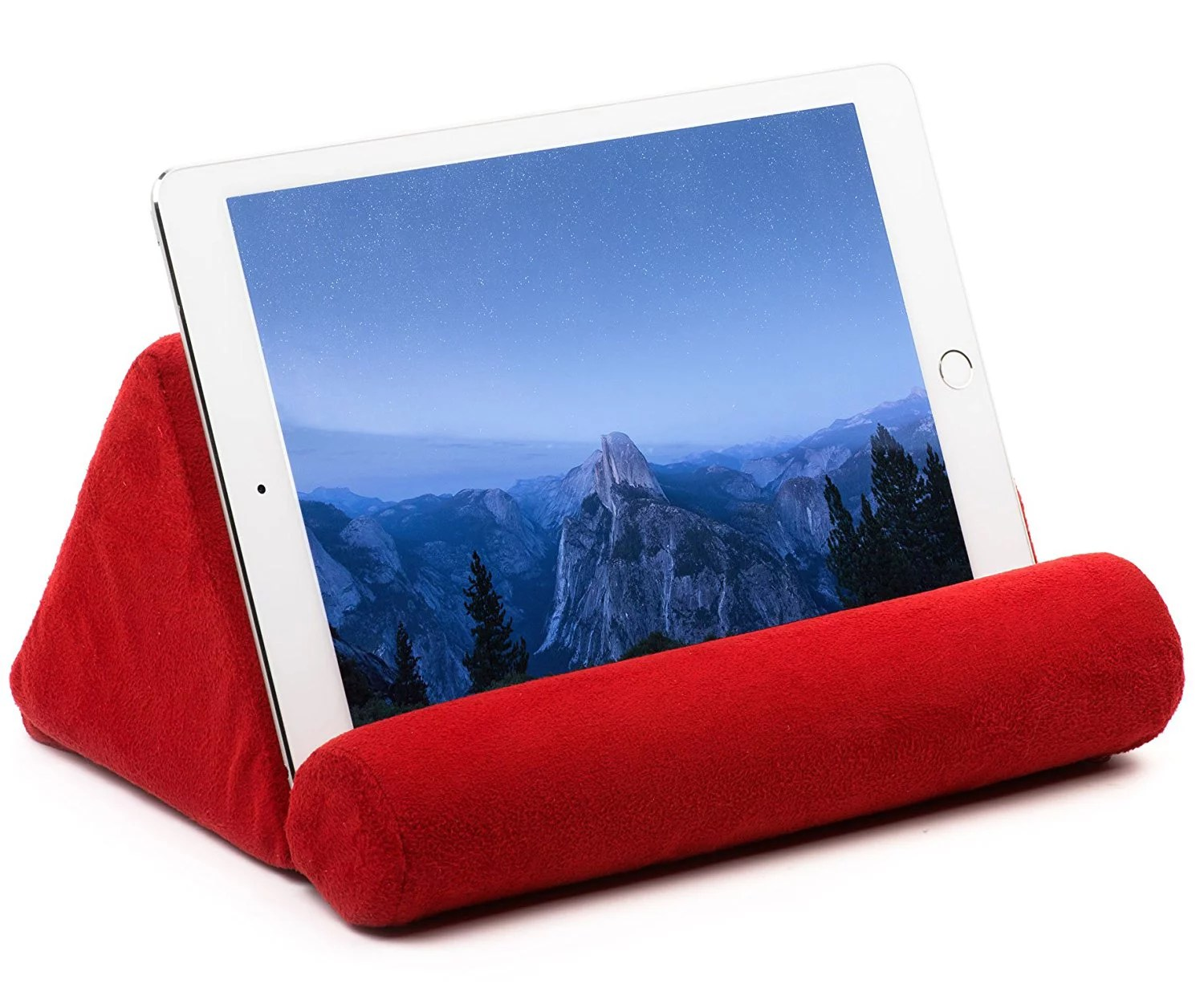 tablet pillow for galaxy or ipad microfiber mini tablet holder sofa stand