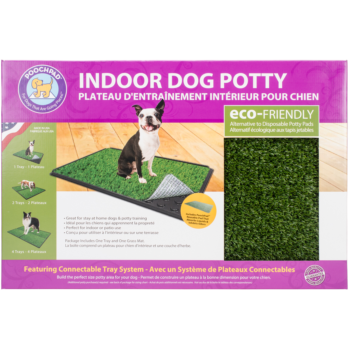 indoor turf dog potty classic plus connectable 16 x 24 with pad walmart com