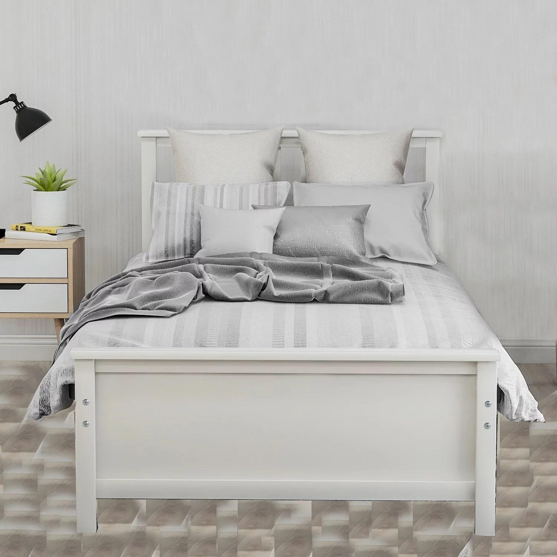 clearance twin bed frames for kids heavy duty wood twin on walmart bedroom furniture clearance id=75885