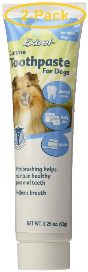 8 in 1 pet products d d s canine toothpaste fresh flavor 3 25 oz pack of 2