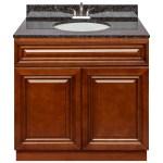 Brown Bathroom Vanity 36 Tan Brown Granite Top Faucet Lb5b Walmart Com Walmart Com