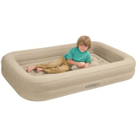 Intex Inflatable Kids Travel Airbed With Hand Pump