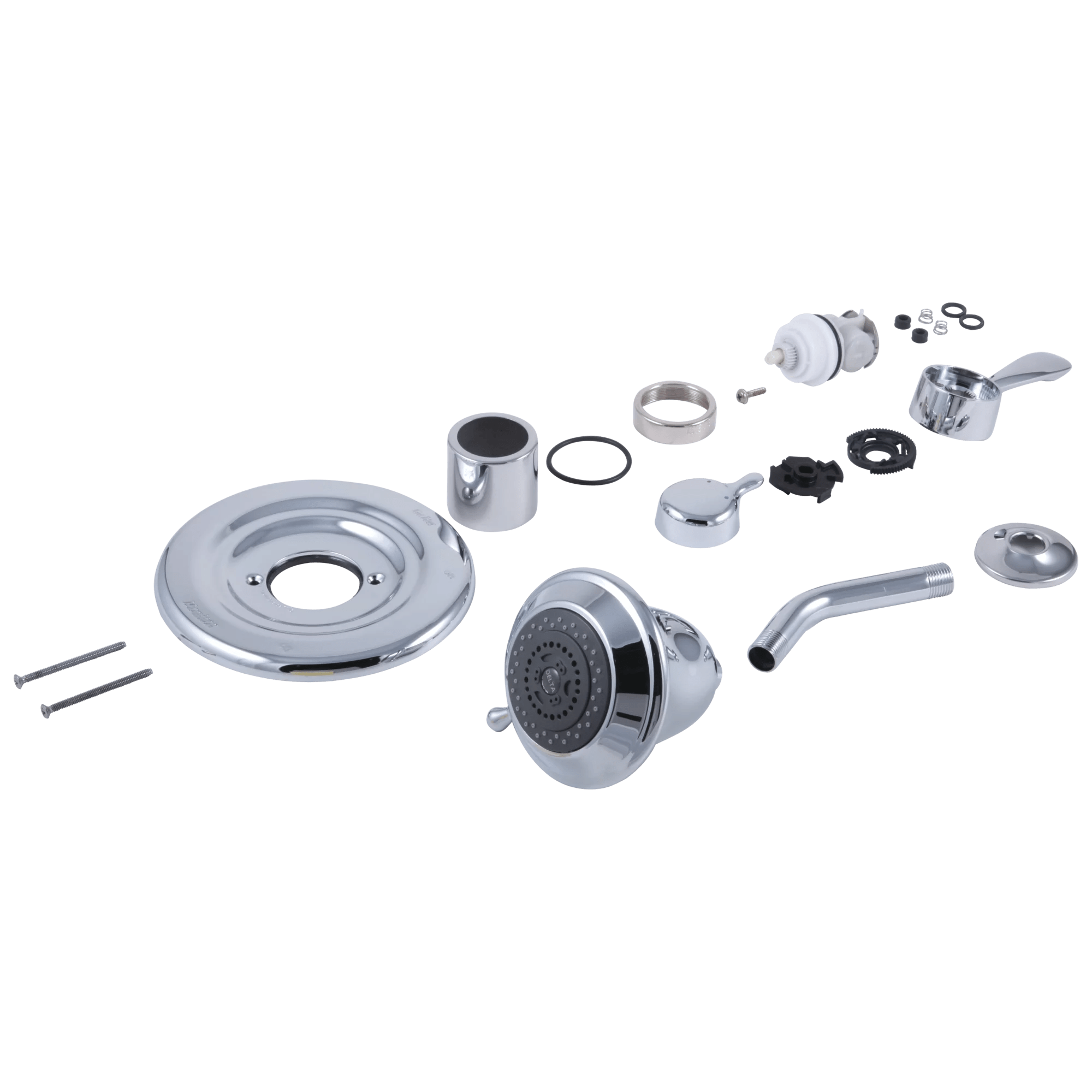 delta conversion kit for 1500 series to 17 series tub shower faucets in chrome rp29405 walmart com