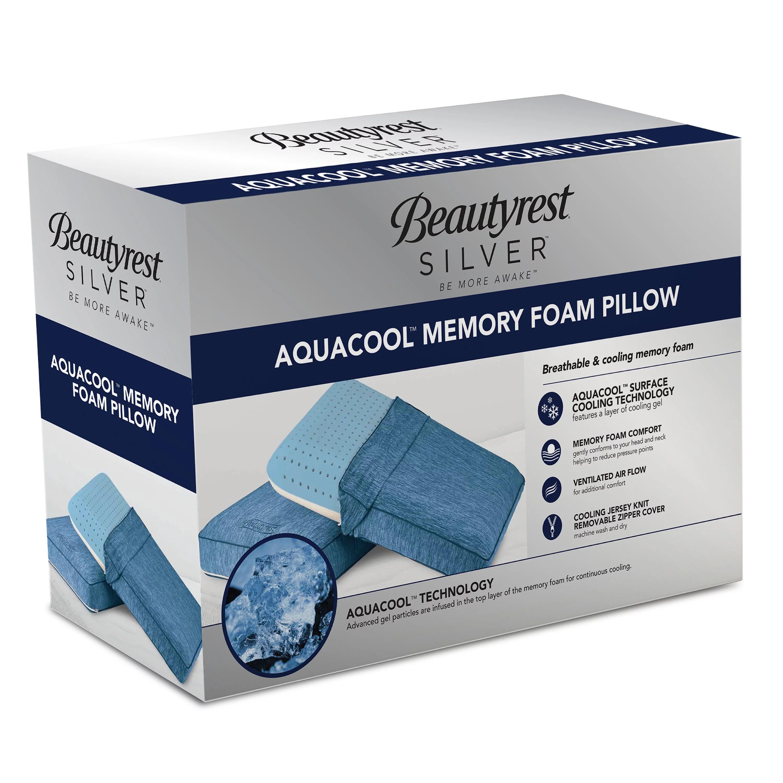 beautyrest memory foam pillow matres