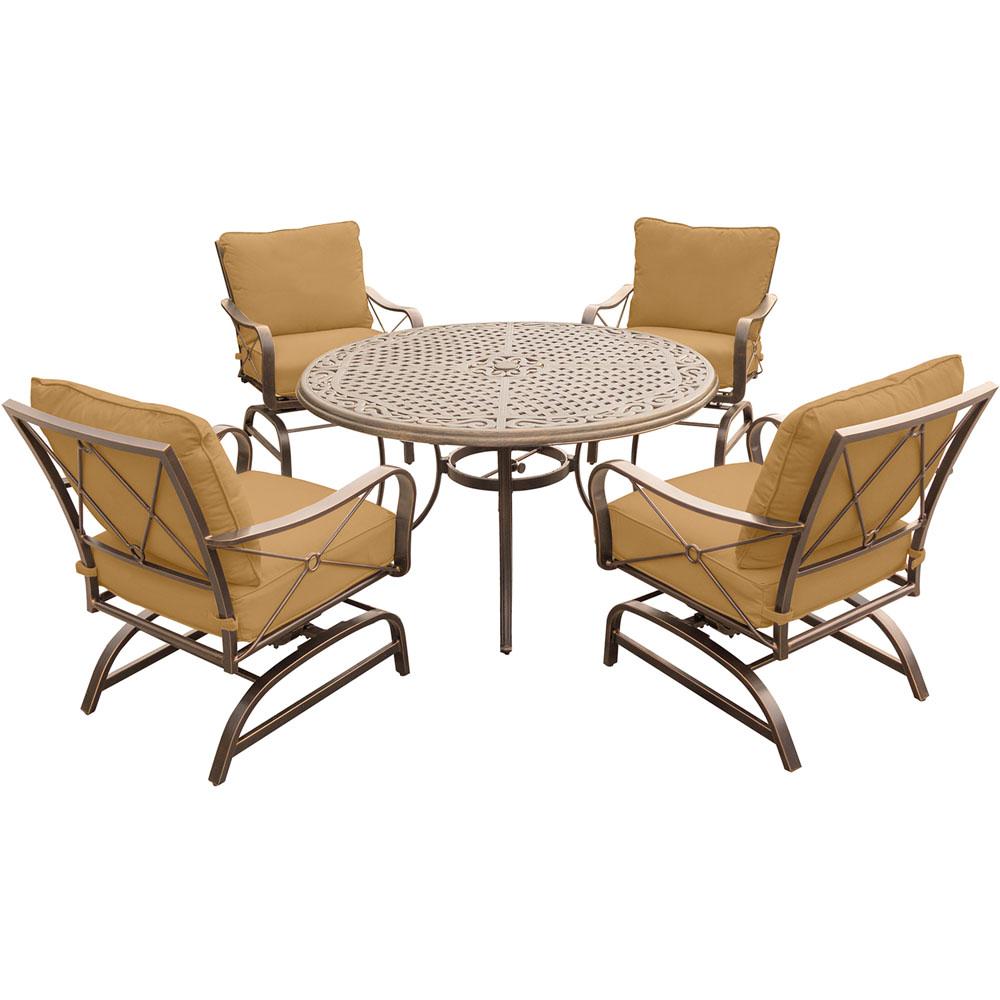 latigo rattan patio chat set