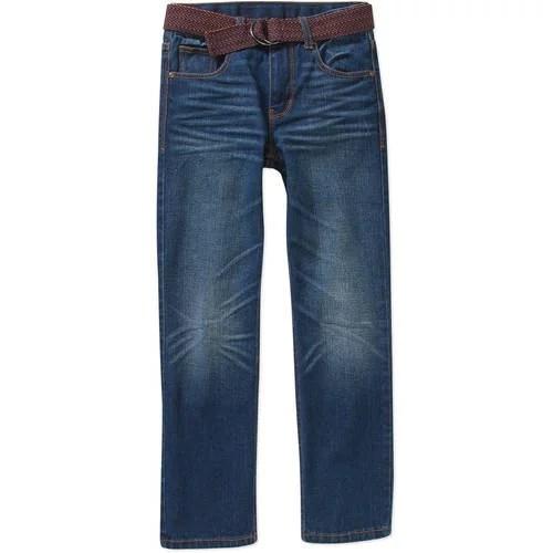 Faded Glory Boys' Fashion Denim Jeans with Belt