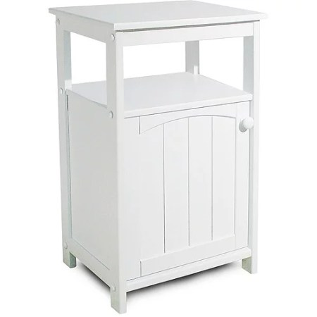 telephone stand/bathroom cabinet, white - walmart