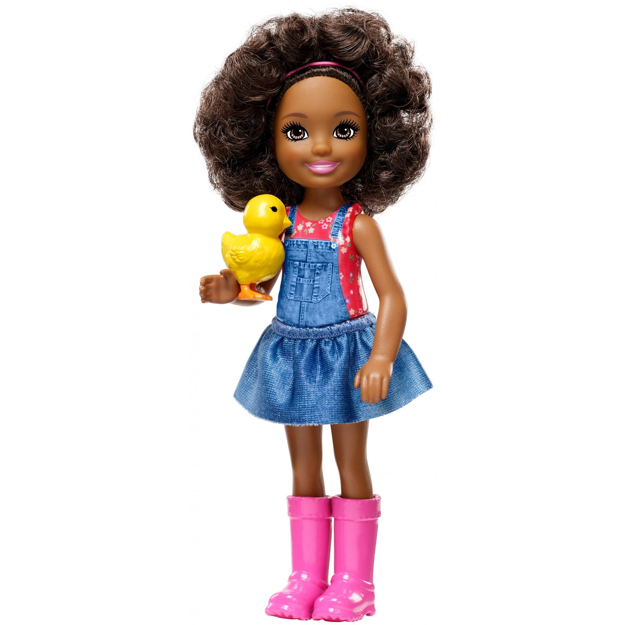 Barbie Sweet Orchard Farm Chelsea Friend Doll With Yellow Chick Walmart Com Walmart Com