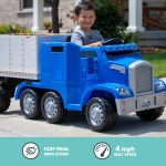 Kids Ride On Truck With Trailer Online