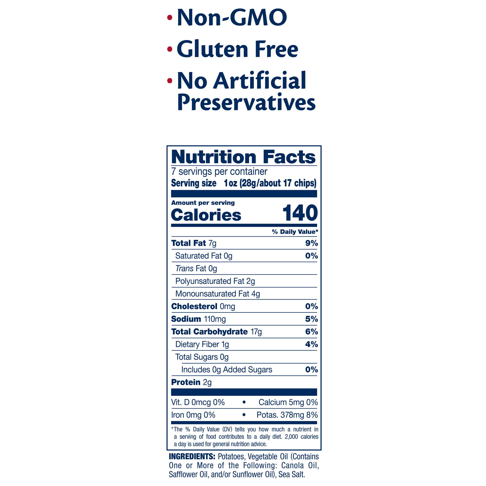 Birthday Girl Birthday Nutrition Facts