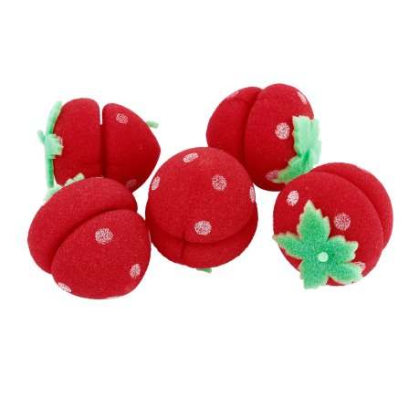 unique bargains sponge hair rollers curlers for short long hair diy 5 pcs
