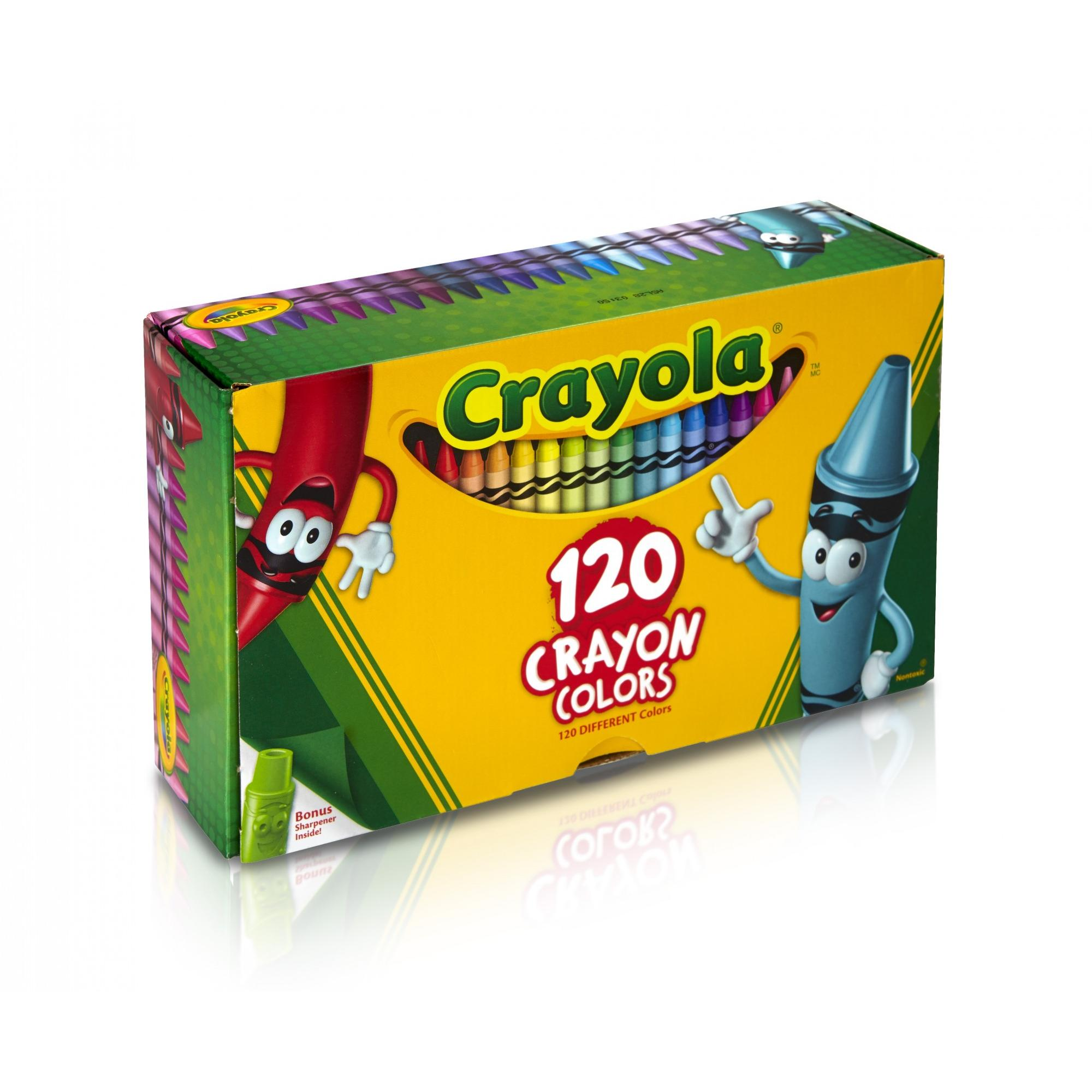 Crayola Classic Crayons 120 Count With Tip Crayon