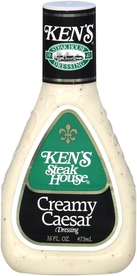 Ken39s Steakhouse Dressing Creamy Caesar 16 Fl Oz