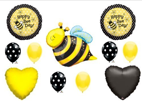 happy bee day bumblebee birthday party balloons decorations supplies new by anagram