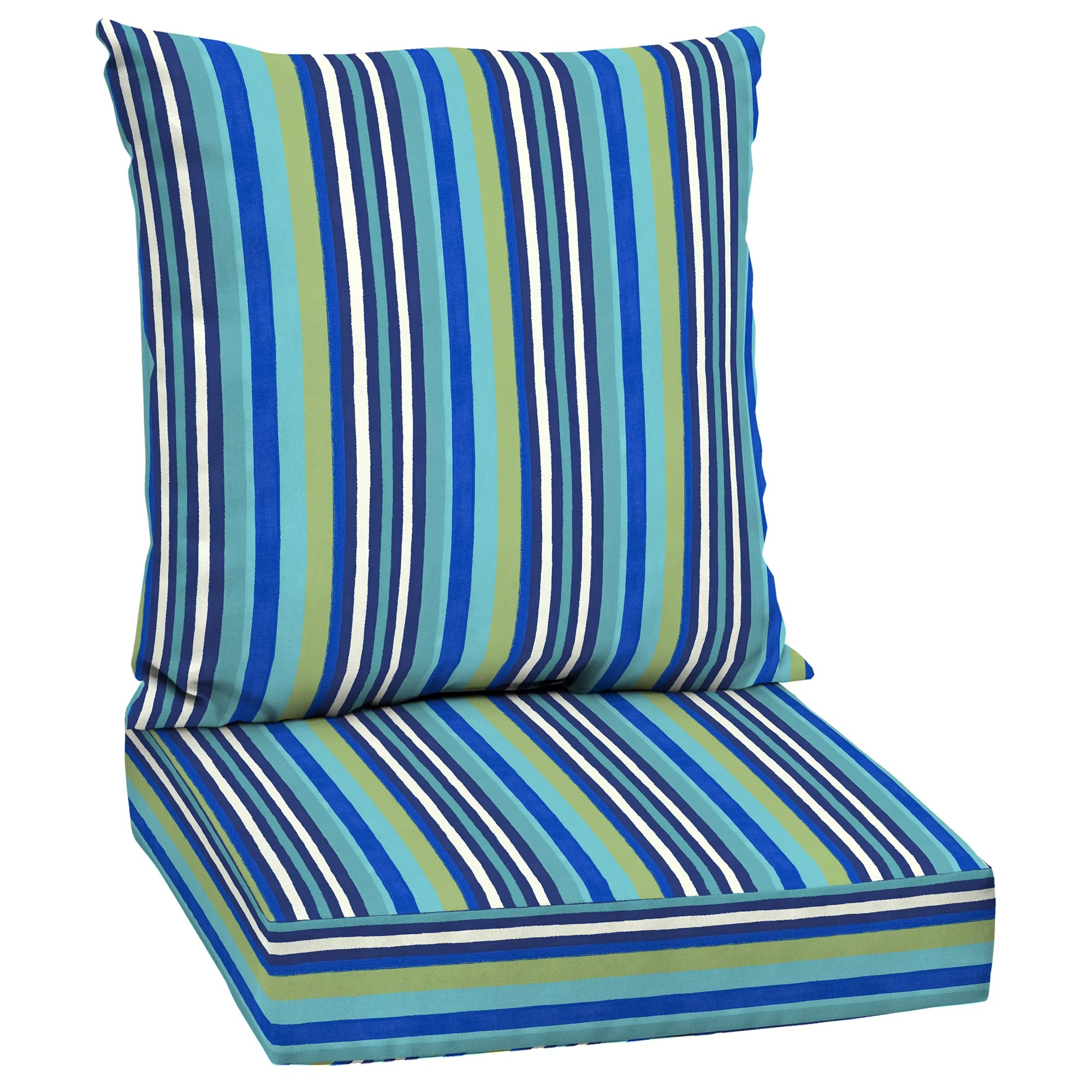 mainstays outdoor chair cushions