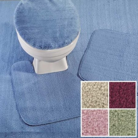 reflections wall to wall bathroom carpet, cut to fit, 5' x 6' sand