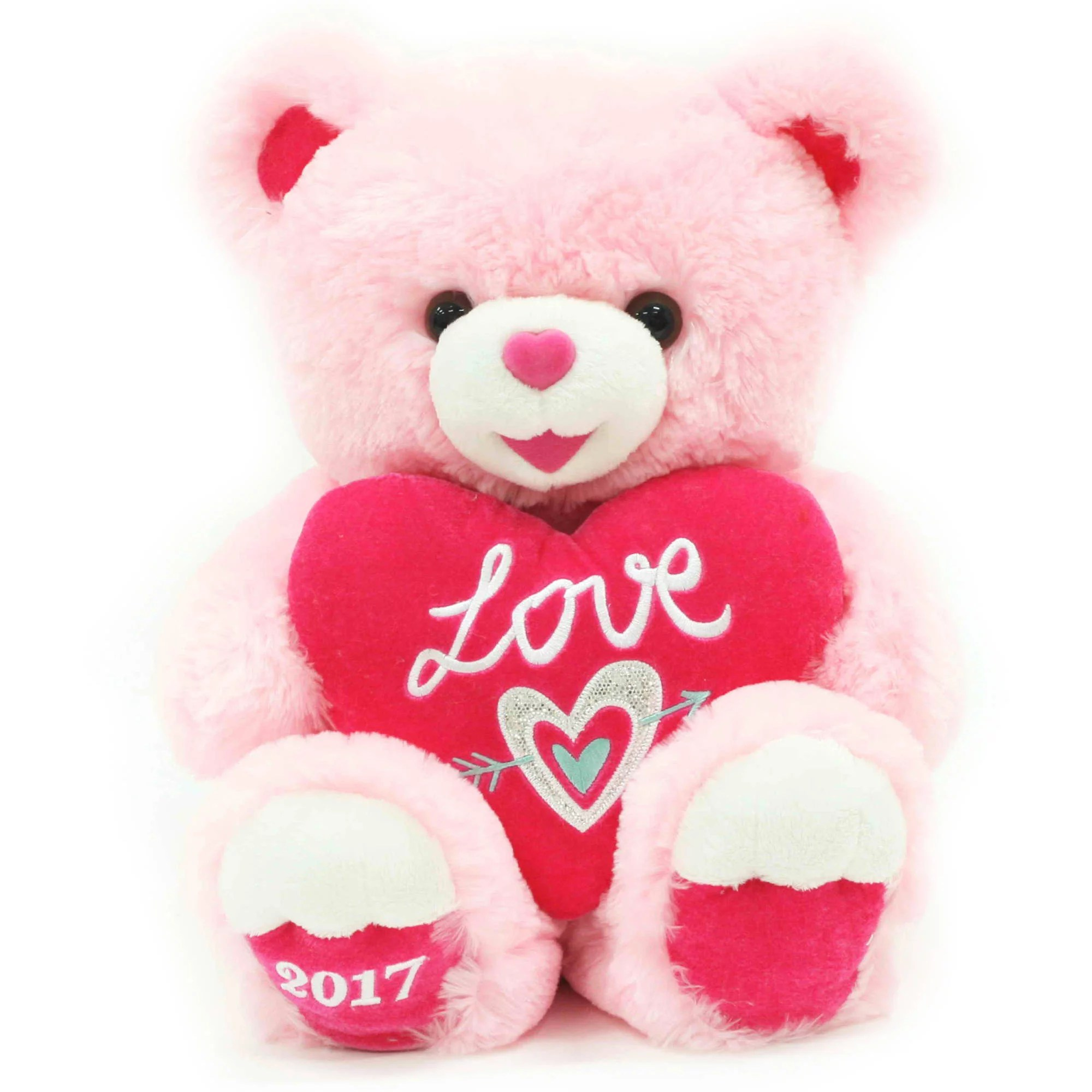 Valentine Sweetheart Teddy Bear 14 Pink