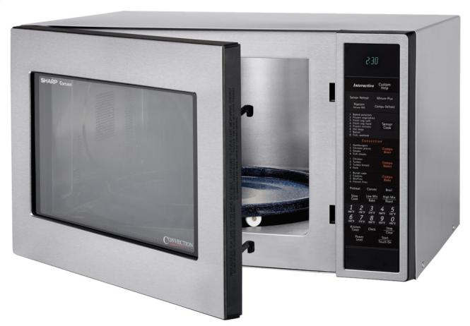 carousel rated microwave best ovens open convection view sharp countertop top
