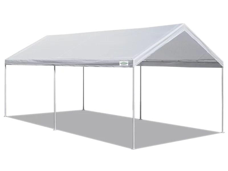 caravan canopy domain basic 10 x20 carport shelter
