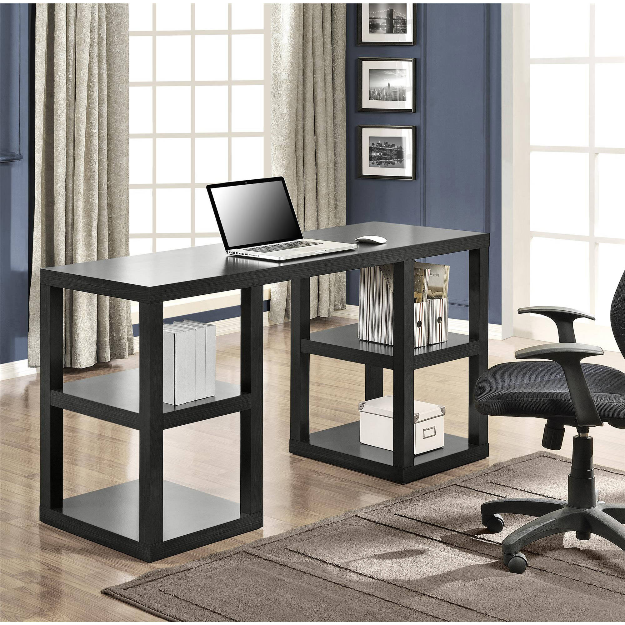 title | Black Home Office Desk