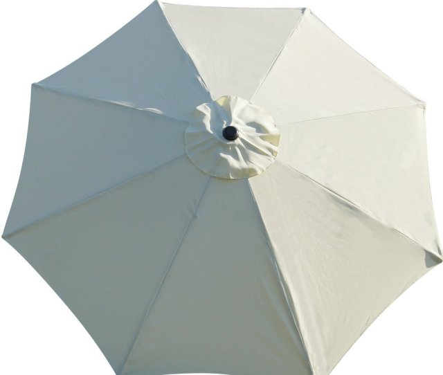 Sundale Outdoor 9 Feet Patio Umbrella Replacement Canopy Cover For 8 Ribs Yard Garden Polyester Walmart Com