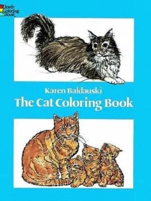 Cat Coloring Book