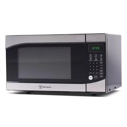westinghouse wm009 0 9 cu ft microwave oven black