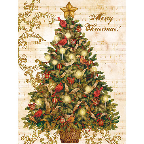 Lang Christmas Tree Boxed Christmas Cards