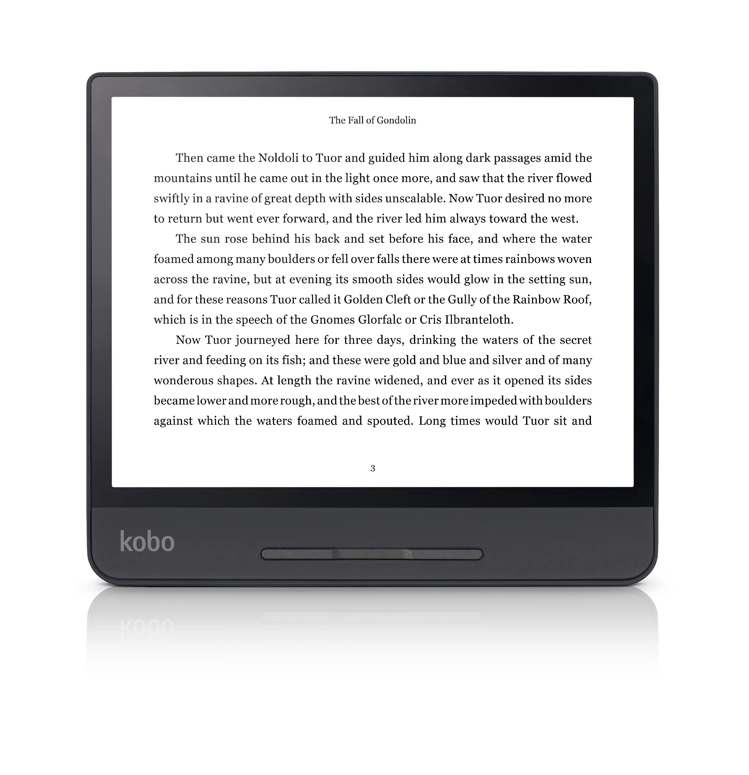 Kobo Forma eReader – 8″ HD Carta E Ink most lightweight touchscreen, Page-turn buttons, ComfortLight PRO, waterproof