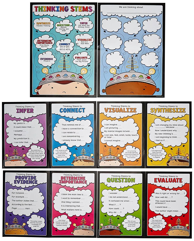 Carson Dellosa Thinking Stems Bulletin Board Set
