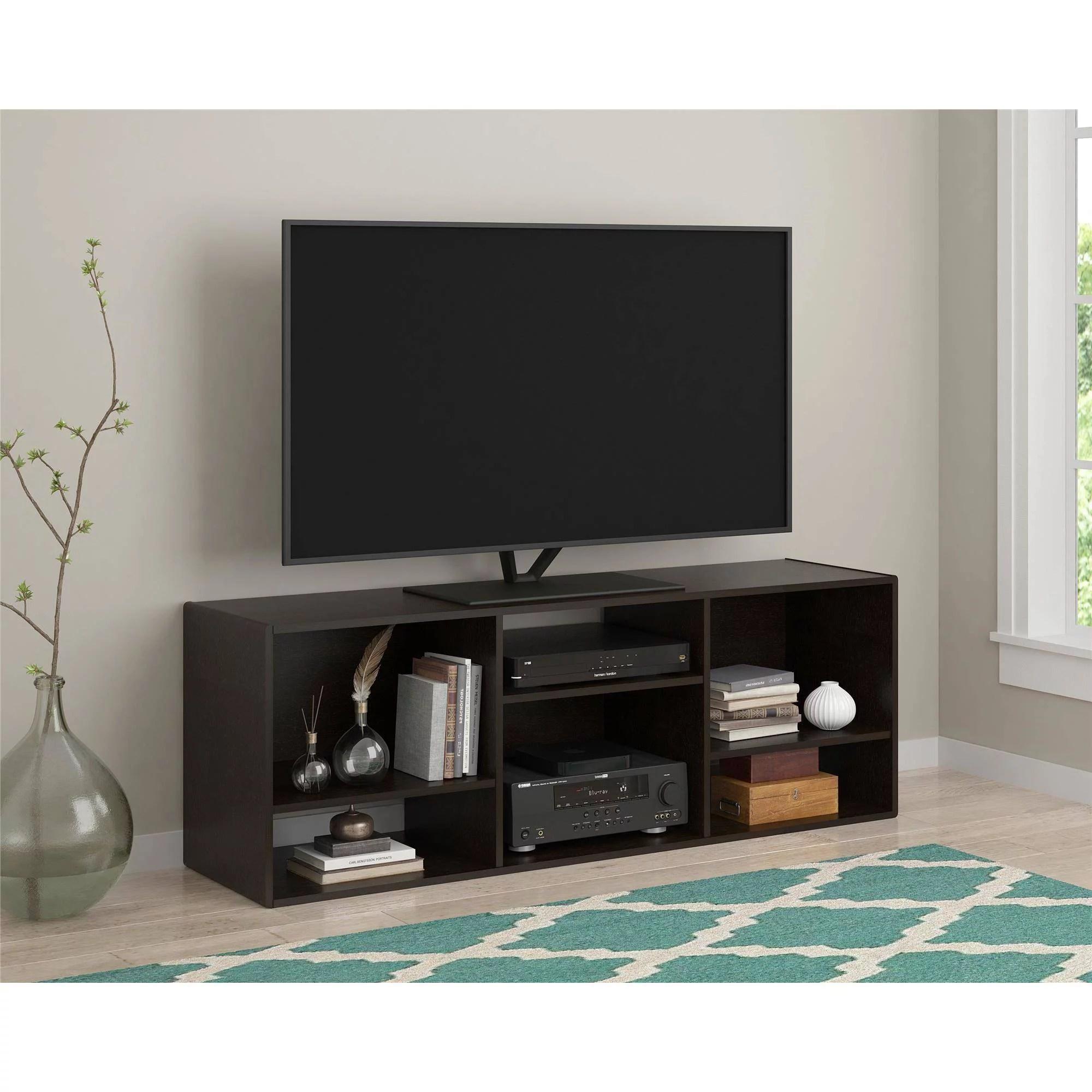 Ameriwood Home Nash Bookcase Tv Stand For Tvs Up To 60 Espresso Walmart Com