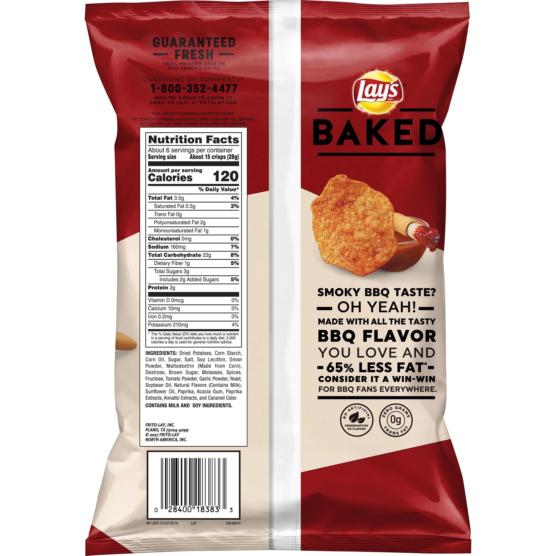 Sun Chips Ingredients Label