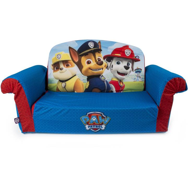 Marshmallow Furniture Children S 2 In 1 Flip Open Foam Sofa Nickelodeon Paw Patrol By Spin Master Com
