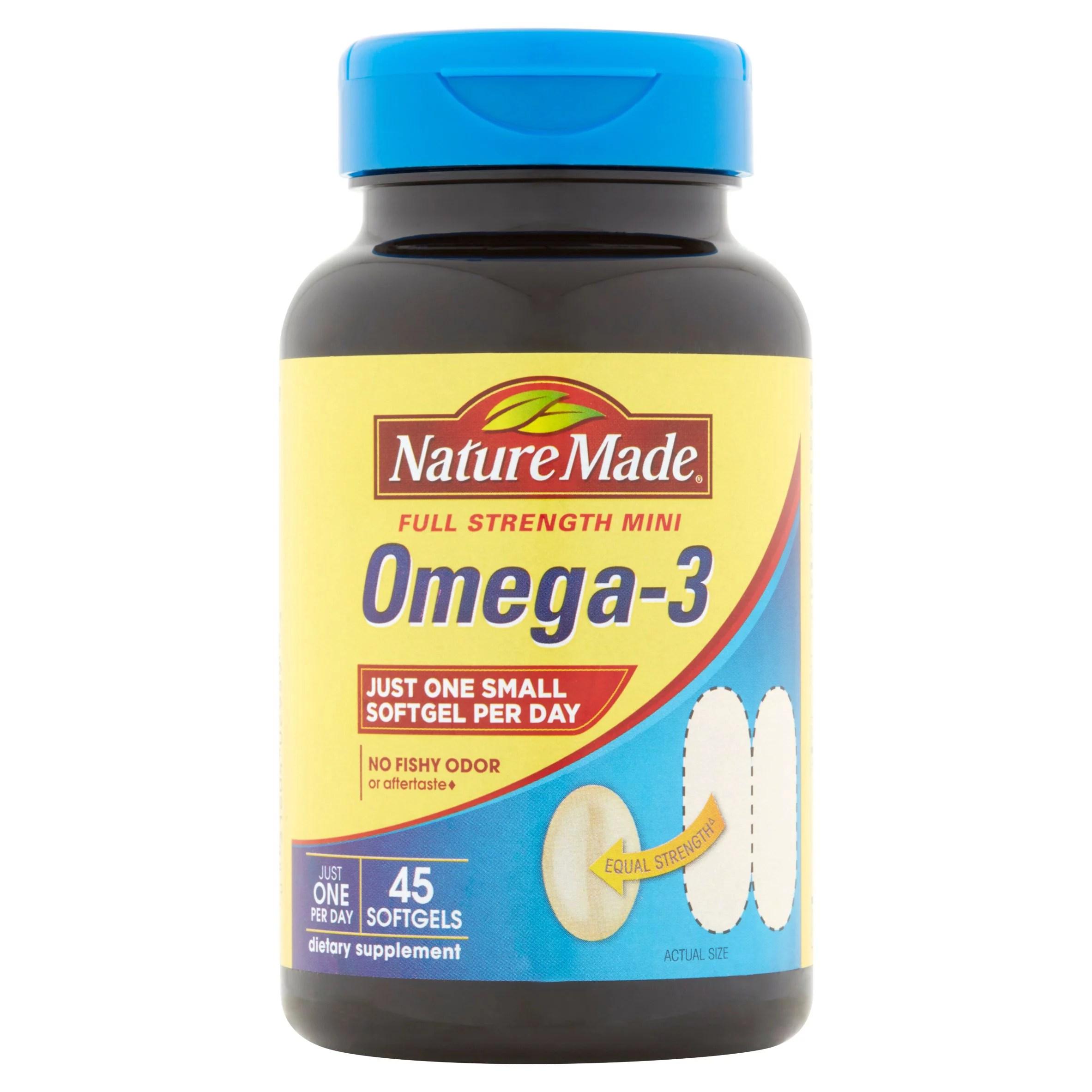 Fish Oils Omegas Walmartcom