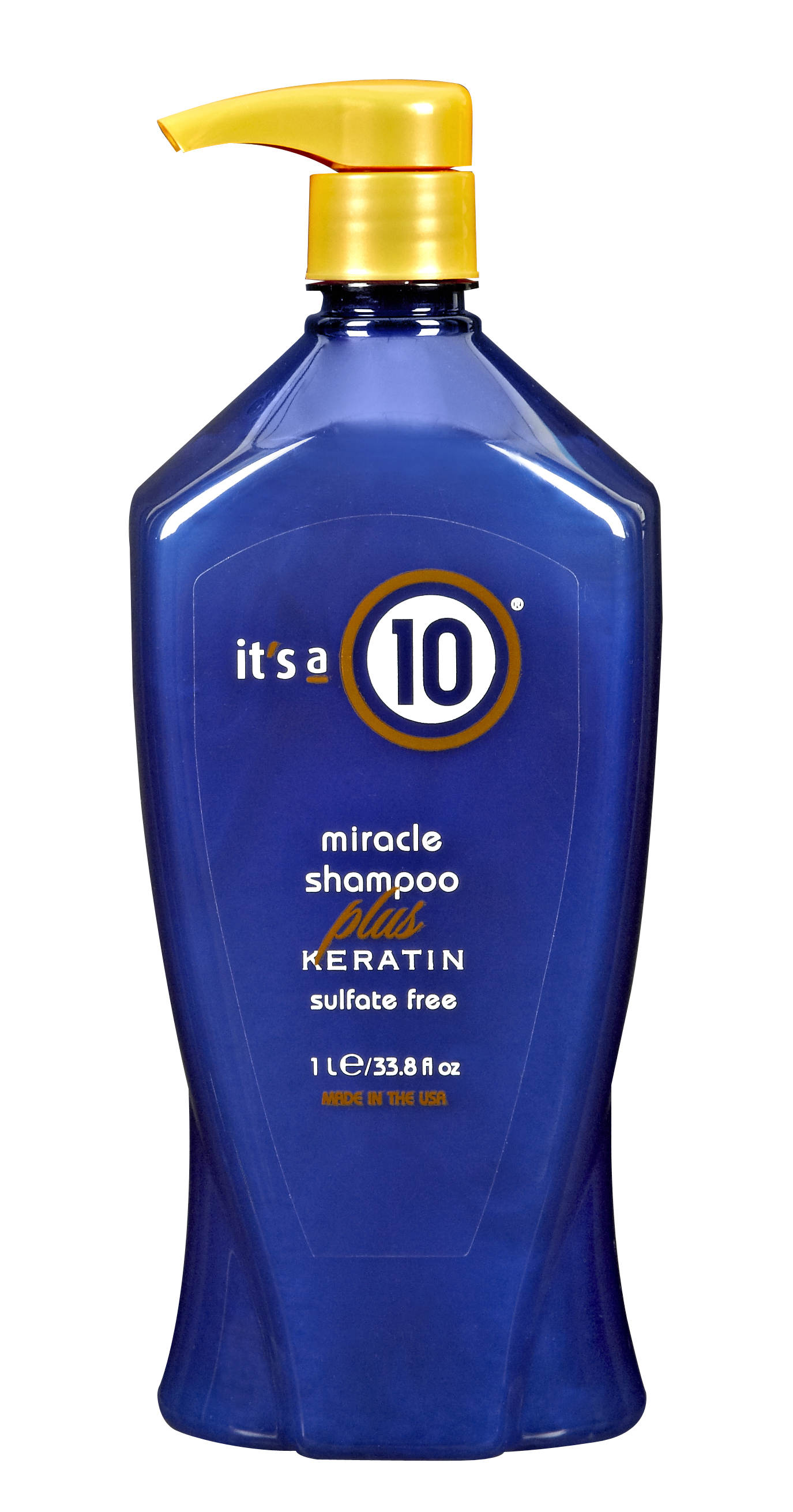 (.99 Value) It's A 10 Miracle Shampoo-Plus Keratin-33.8 Oz