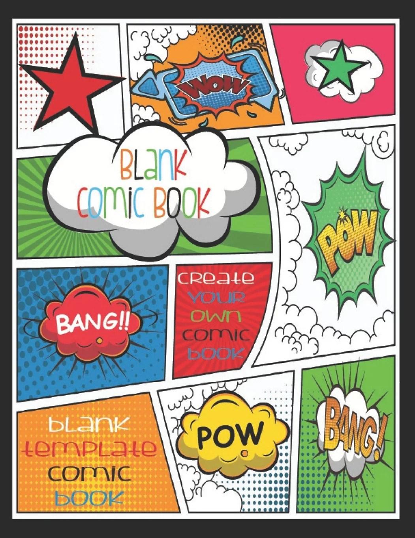 Blank Comic Book Create Your Own Comic Book Blank