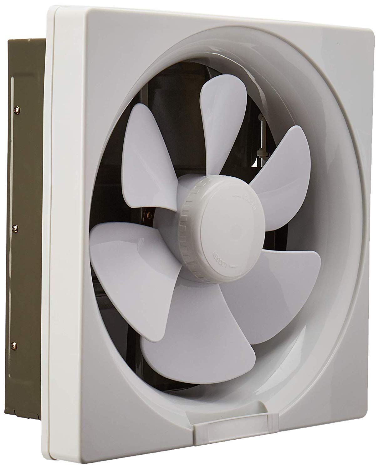 tjernlund 12 inch white plastic shutter exhaust fan for warehouses barns factories and greenhouses walmart com