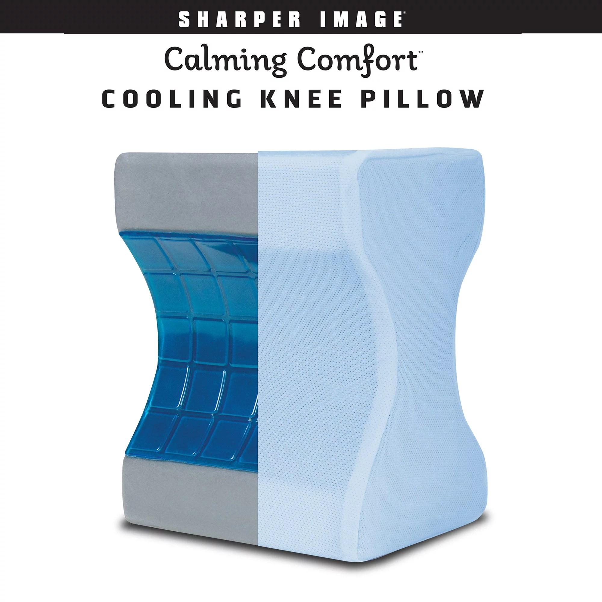 calming comfort cooling knee pillow as seen on tv walmart com