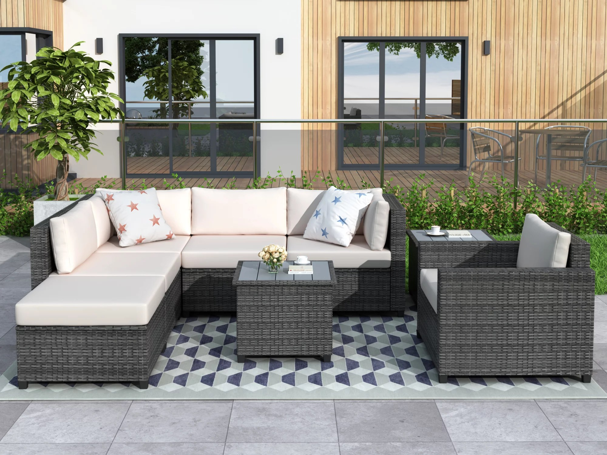 patio dining sets clearance 8 piece