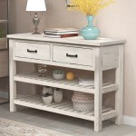 45 Hallway Entryway Table Btmway Rustic Wooden Farmhouse Foyer Living Room Bedroom Console Table Modern Narrow Tall Console Entrance Sofa Couch Table With Storage Drawer Shelf Antique White R681 Walmart Com Walmart Com