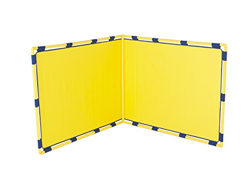 Children S Factory Big Screen Rt Angle Playpanel Kids Room Divider Panel Free Standing Classroom Partition For Daycare Preschool Yel Yellow Cf900 533y Walmart Canada