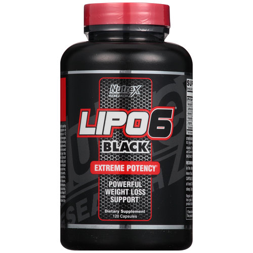 Nutrex Research LIPO6 Black Extreme Potency Metabolism ...